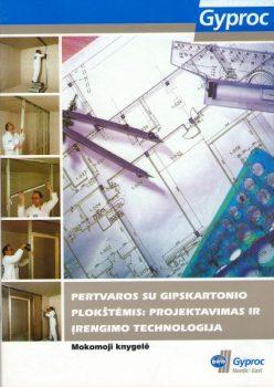 Pertvaros su gipskartonio plokštėmis: projektavimas ir įrengimo technologija